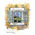 Old chapel window, France by scatterlings