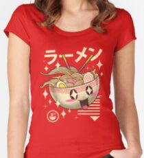Kawaii Ramen Women's Fitted Scoop T-Shirt