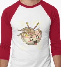 Kawaii Ramen Men's Baseball ¾ T-Shirt