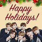 BTS Holiday Card by baekgie29