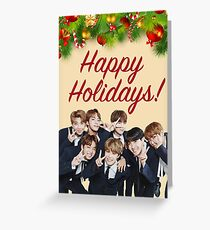 BTS Holiday Card Greeting Card
