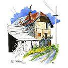 Le Villard, French mountain village by scatterlings