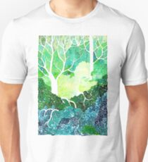 Enchanted Forest in inks T-Shirt