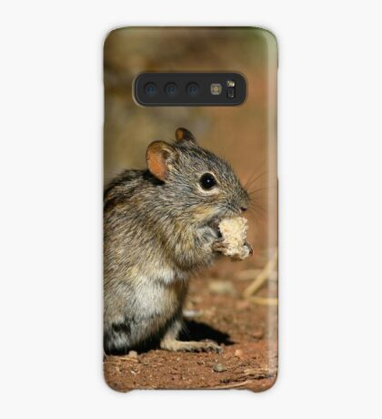 Striped Grass Mouse (Rhabdomys pumilio) Case/Skin for Samsung Galaxy