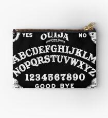 Ouija-White Studio Pouch