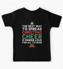 CHRISTMAS CHEER Kids T-Shirt