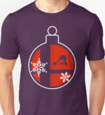 Christmas Smash Bros Baubles - Mr Game & Watch Unisex T-Shirt