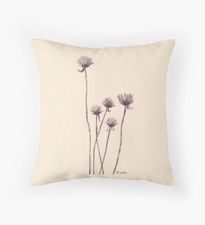 If you want to see the sunshine... Throw Pillow