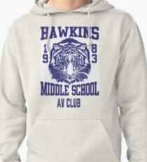 Hawkins Middle School AV Club Pullover Hoodie
