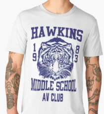 Hawkins Middle School AV Club Men's Premium T-Shirt