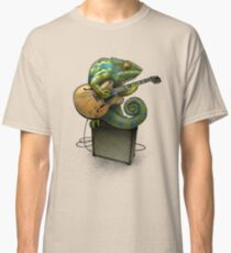 Chameleon Plays the Blues... plus a few other colors Classic T-Shirt