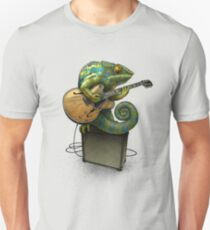 Chameleon Plays the Blues... plus a few other colors Unisex T-Shirt