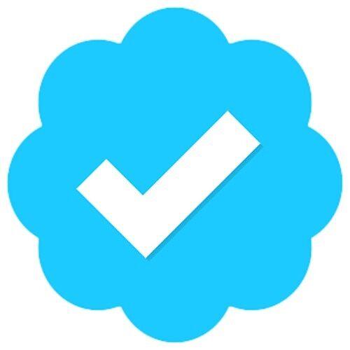 Twitter Verified Symbol By Loljackwho Redbubble