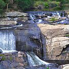 Agnes River falls by Peter Krause