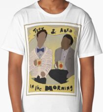 troy and abed - The new becomes threatening, the old reassuring. Long T-Shirt