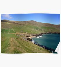 Dingle coastline Poster