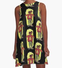 troy and abed - More than fashion or brand labels, I love design. A-Line Dress