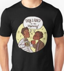 troy and abed - I love the thought that people put into clothes.  T-Shirt