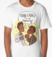 troy and abed - I love the thought that people put into clothes.  Long T-Shirt