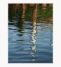 coloured water Photographic Print