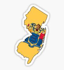 New Jersey Love Sticker