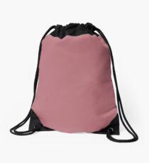Rose Gold Drawstring Bag