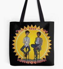 troy and abed - Design is a way of life, a point of view. Tote Bag
