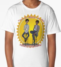 troy and abed - Design is a way of life, a point of view. Long T-Shirt