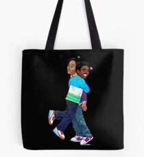 troy and abed - Creativity is to discover a question that has never been asked. Tote Bag