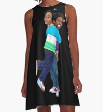 troy and abed - Creativity is to discover a question that has never been asked. A-Line Dress