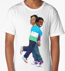 troy and abed - Creativity is to discover a question that has never been asked. Long T-Shirt