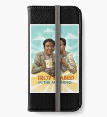 troy and abed - I strive for two things in design: simplicity and clarity. iPhone Wallet/Case/Skin
