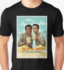 troy and abed - I strive for two things in design: simplicity and clarity. T-Shirt