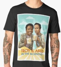 troy and abed - I strive for two things in design: simplicity and clarity. Men's Premium T-Shirt