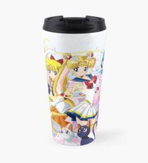 Sailor Moon Group Travel Mug