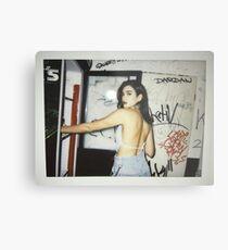 Dua Lipa Polaroid  Metal Print