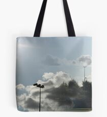 Pitch in the Clouds Tote Bag