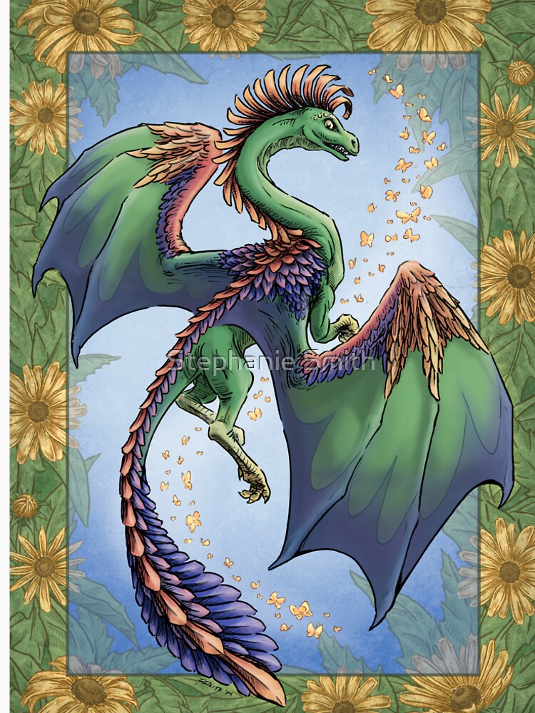 """""""The Dragon of Summer"""" by stephsmith"""