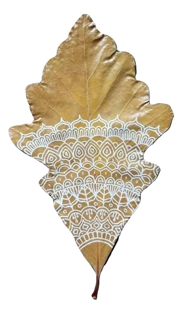Eichenblatt-Mandala von chailyn