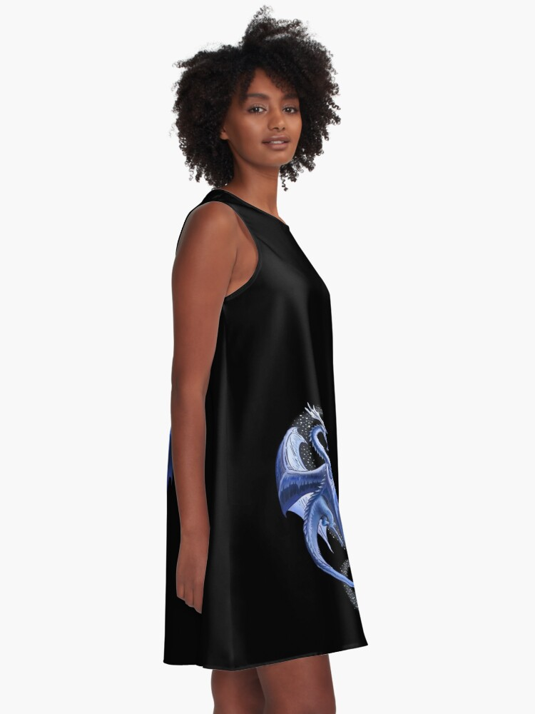 Alternate view of The Dragon of Winter A-Line Dress