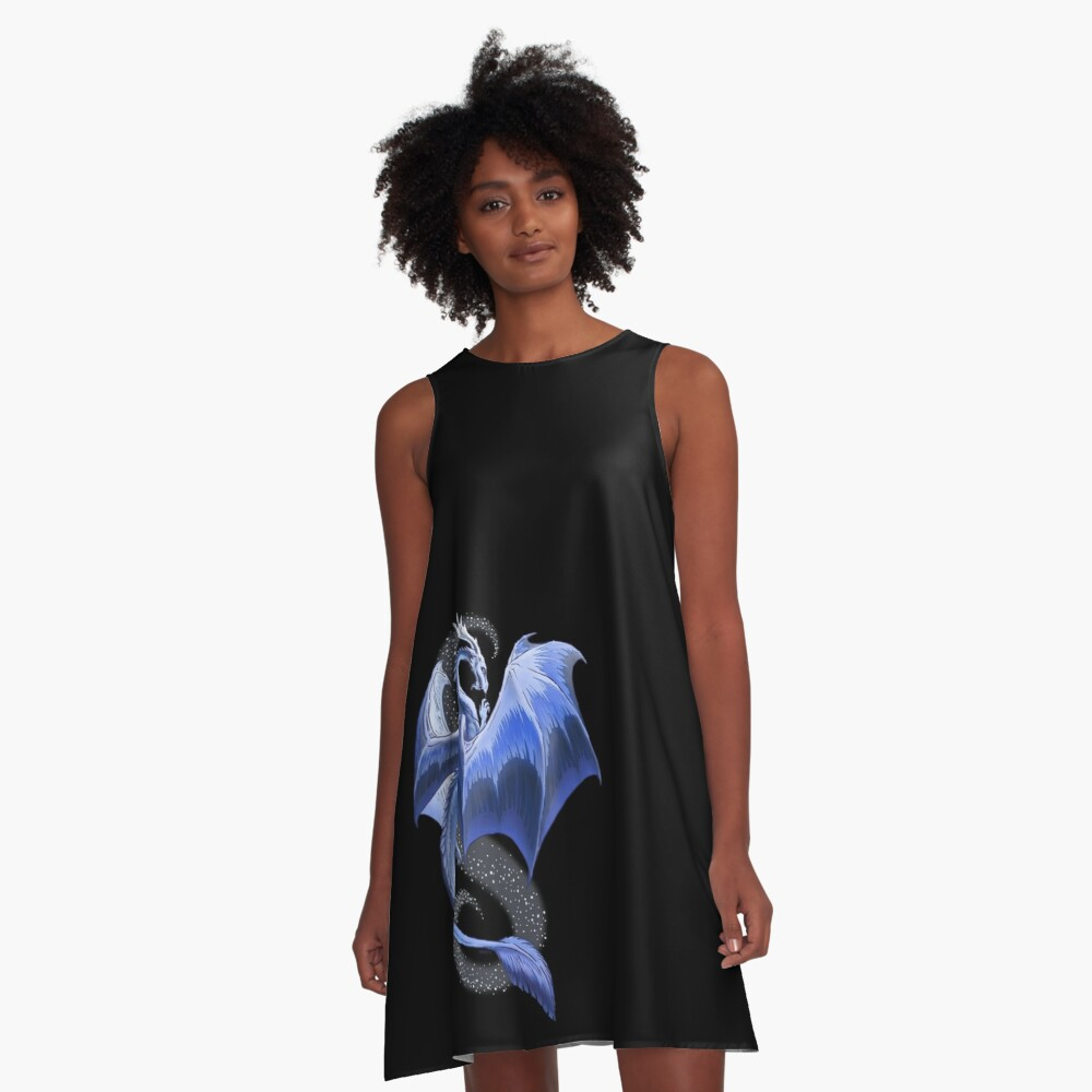 The Dragon of Winter A-Line Dress