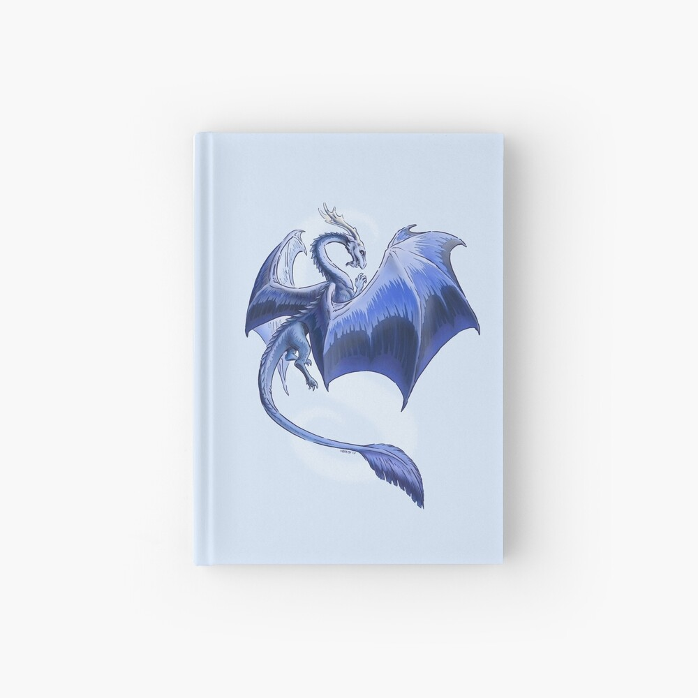 The Dragon of Winter Hardcover Journal