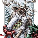 Jingle Bells Holiday Reindeer by Stephanie Smith