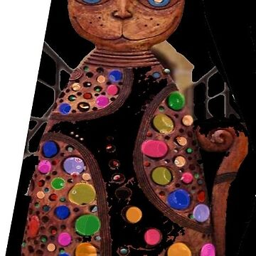 jeweled cat statue by olph66