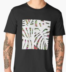 Welcome to the jungle. White camouflage. Men's Premium T-Shirt