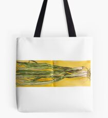 spring onions shallots scallions  Tote Bag