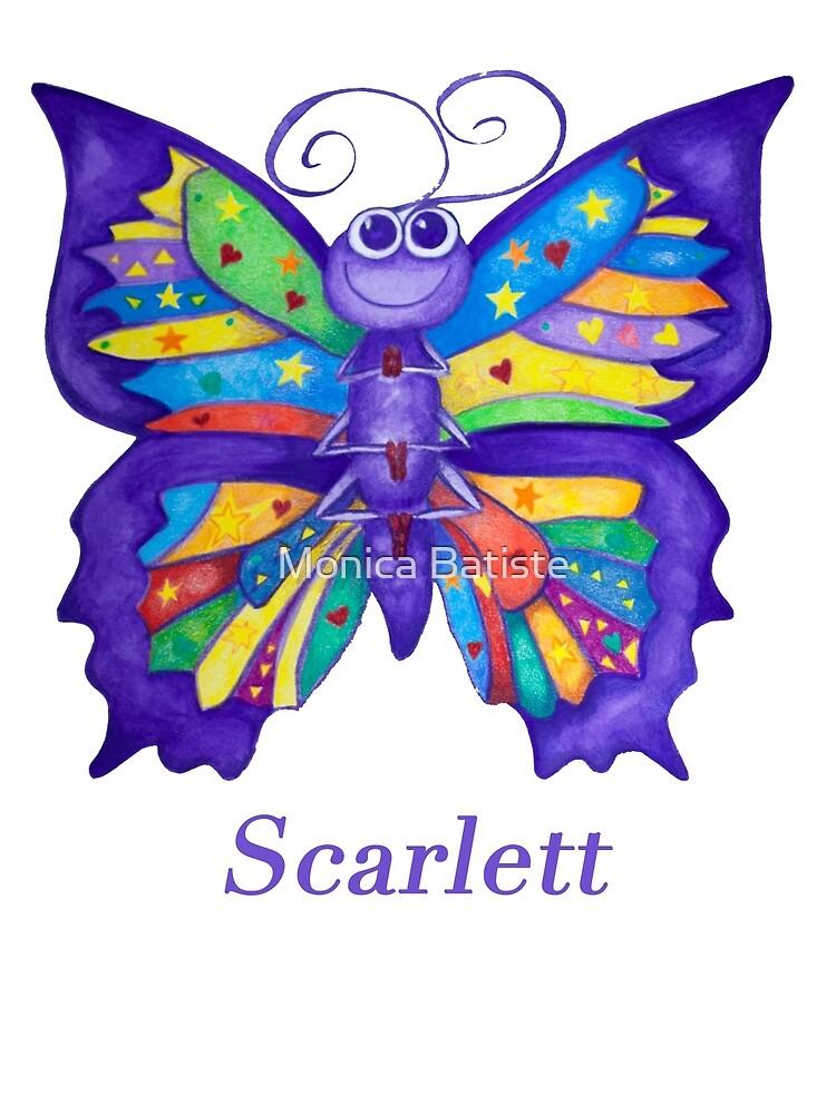 A Yoga Butterfly for Scarlett by Monica Batiste