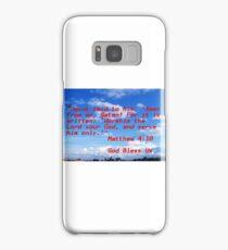 Matthew Samsung Galaxy Case/Skin