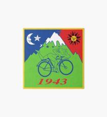 Hofmann's Bikeride LSD Blotter Stickers Art Board
