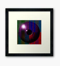 Abstract Eyeball Framed Print